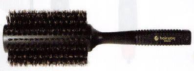 HAIRWAY Брашинг BASEL на дер. основе с натур. щетиной 65мм-Брашинги<br>Каучуковая ручка обеспечивает удобство использования этим аксессуаром, так как не выскальзывают из рук во время сушки волос феном. Натуральность щетины не травмирует кожу головы и хорошо распутывает волосы, не электризуя их.<br>