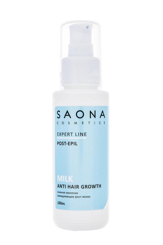 SAONA COSMETICS Молочко для тела нежное замедляющее рост волос / Expert Line 100 мл - Молочко
