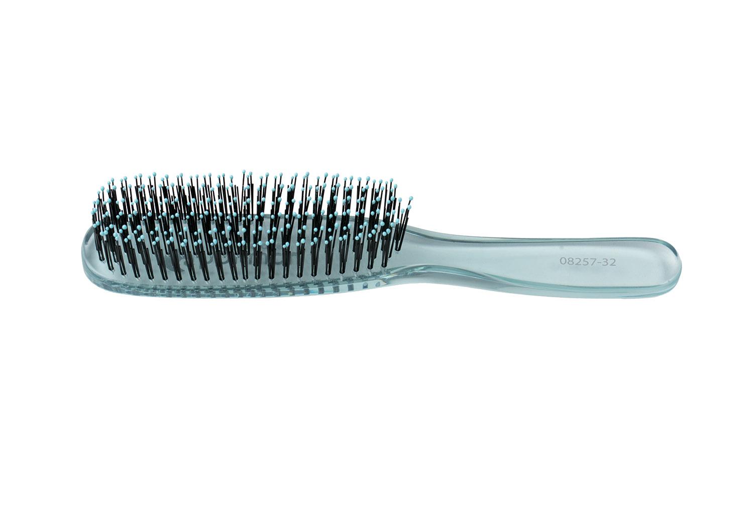 HAIRWAY Щетка Hairway Crystal 6-рядная серебро