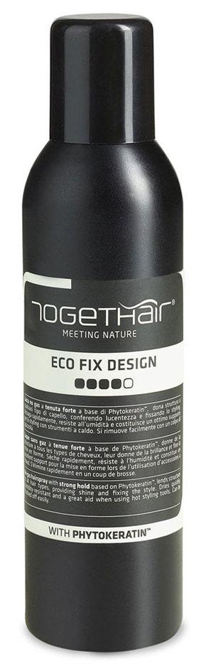 TOGETHAIR Лак-спрей без газа сильной фиксации для укладки волос / Finish Concept Eco Fix design 250 мл фото