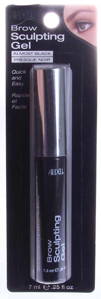 ARDELL Гель для придания формы бровям черный / Brow Sculpting Gel 7,3млГели<br>Гель для окрашивания и фиксации бровей. Не растекается, не имеет липкого слоя, не склеивает волоски бровей. Подойдет обладательницам волос от средне-коричневого до черного оттенка.<br>