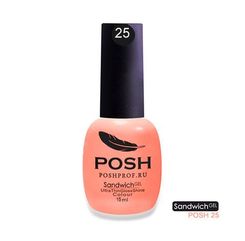 Posh 25 гель-лак на 25 дней вечная красота