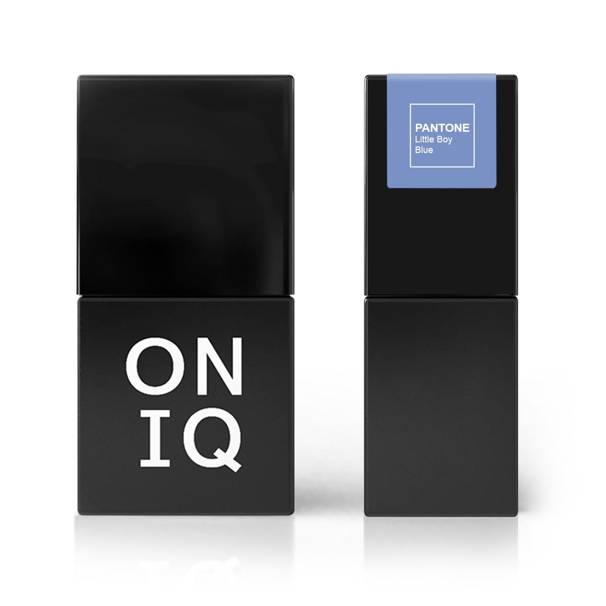 Oniq гель-лак для покрытия ногтей, pantone: little boy blue, 10 мл