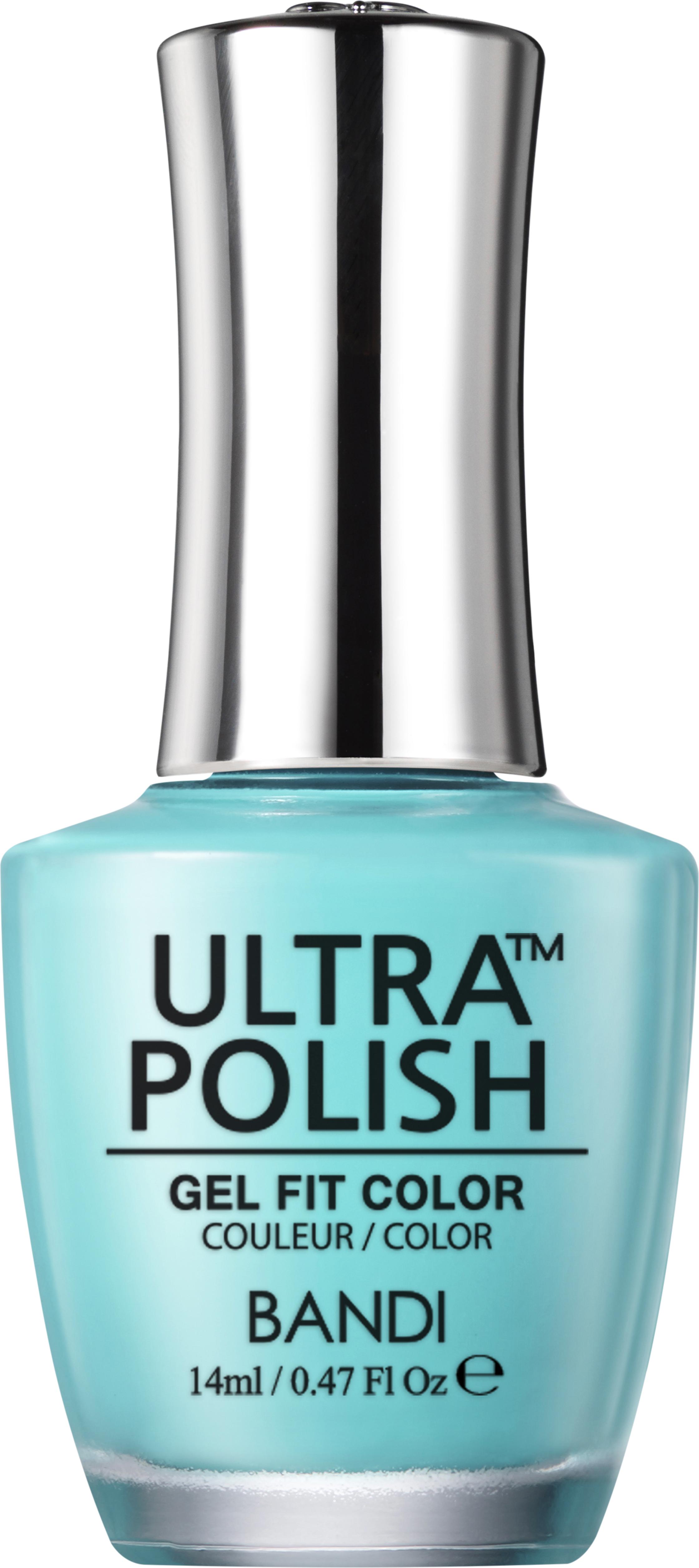 Купить BANDI UP405 ультра-покрытие долговременное цветное для ногтей / ULTRA POLISH GEL FIT COLOR 14 мл, Синие