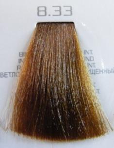 HAIR COMPANY 8.33 краска для волос / HAIR LIGHT CREMA COLORANTE 100млКраски<br>Профессиональная стойкая крем-краска для волос. Результат последних разработок ведущих специалистов и продукт высоких технологий. Профессиональная стойкая крем-краска Hair Light Crema Colorante богата натуральными ингредиентами и, в особенности, эксклюзивным мультивитаминным восстанавливающим комплексом. Новейший химический состав (с минимальным содержанием аммиака) гарантирует максимально бережное отношение к структуре волос. Применение исключительно активных ингредиентов и пигментов высочайшего качества гарантирует получение однородного и стойкого цвета, интенсивных и блестящих, искрящихся оттенков, кроме того, дает полное покрытие (прокрашивание) седых волос. Тона профессиональной стойкой крем-краски Hair Light Crema Colorante дают возможность парикмахеру гибко реагировать на любые требования, предъявляемые к окраске волос. Наличие 5 микстонов и нейтрального (бесцветного) микстона, позволяет достигать результатов окраски самого высокого уровня. Применение: Смешать Hair Light Crema Colorante с Hair Light Emulsione Ossidante в пропорции 1:1,5. Время воздействия 30-45 мин.<br><br>Цвет: Золотистый и медный<br>Объем: 100<br>Вид средства для волос: Стойкая<br>Класс косметики: Профессиональная