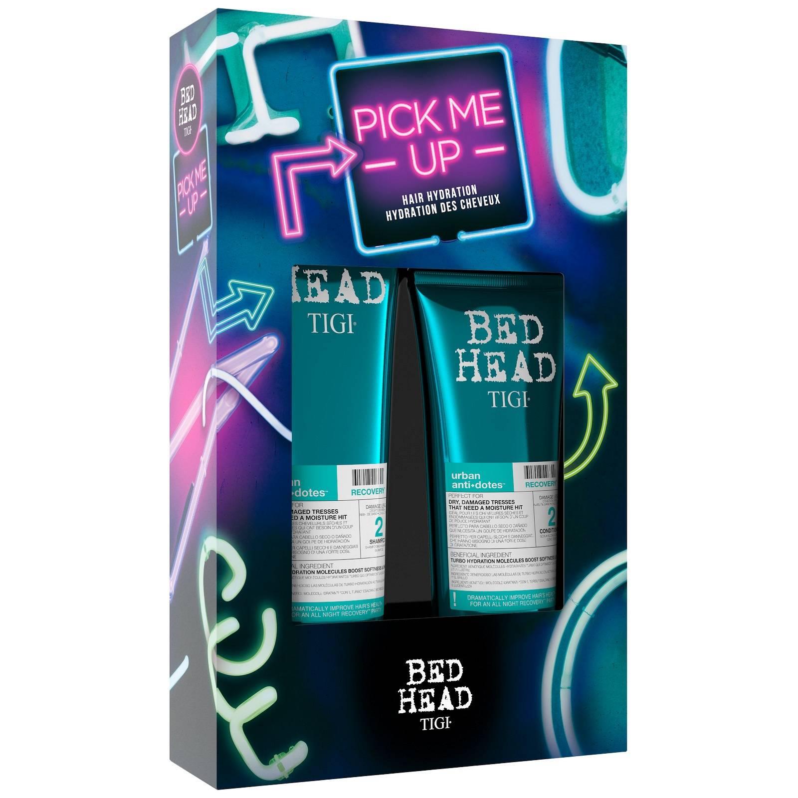 TIGI Набор для реабилитации волос Восстановление (шампунь 250 мл, кондиционер 200 мл) BED HEAD RECOVERY - Наборы