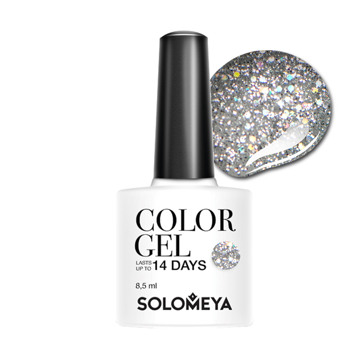 SOLOMEYA Гель-лак для ногтей SCGN239 Артур / Color Gel Arthur 8,5 мл