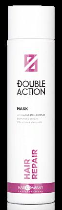 HAIR COMPANY Маска восстанавливающая / Double Action HAIR REPAIR MASK 250 мл