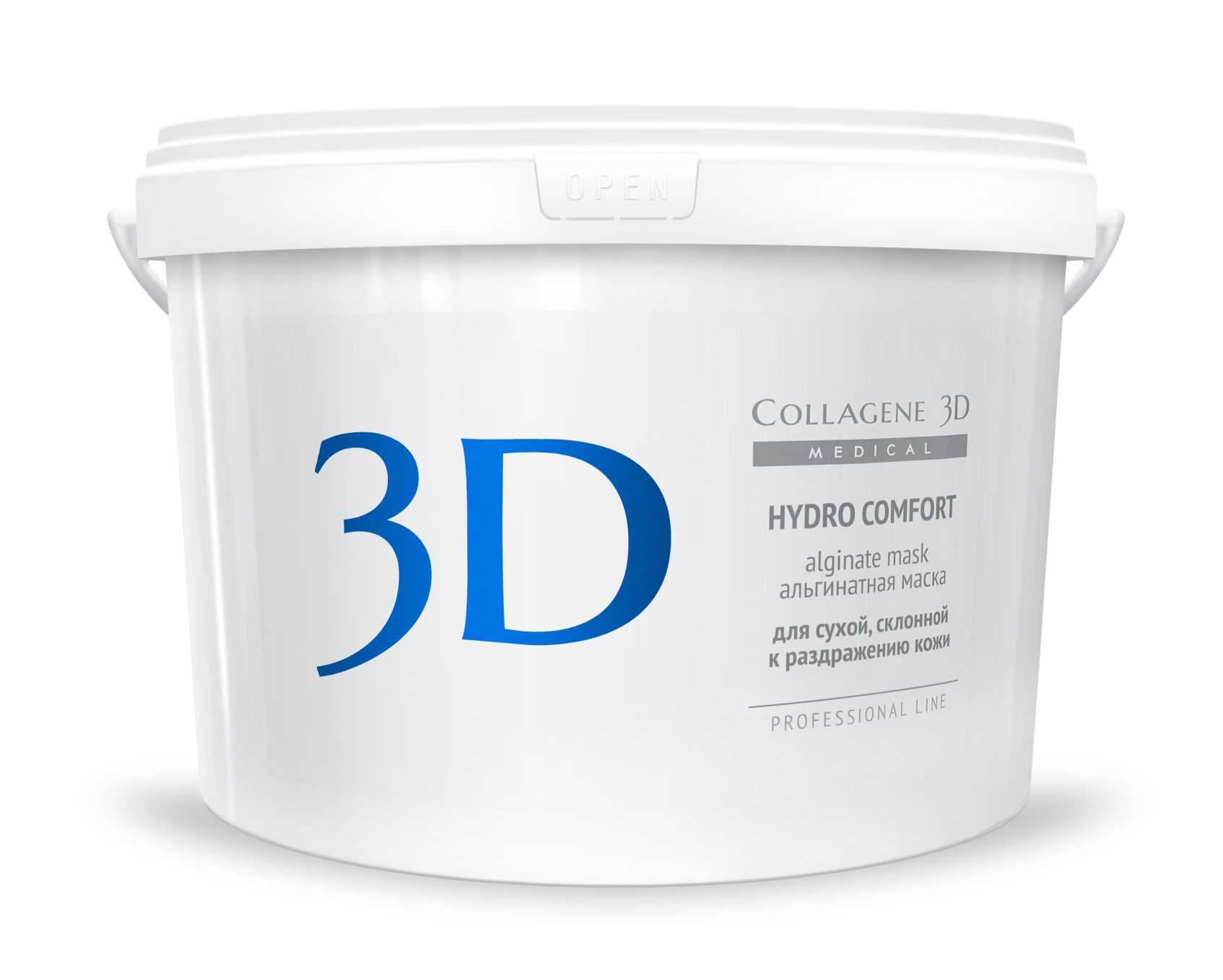 MEDICAL COLLAGENE 3D Маска альгинатная с экстрактом алое вера для лица и тела Hydro Comfort 1200гр
