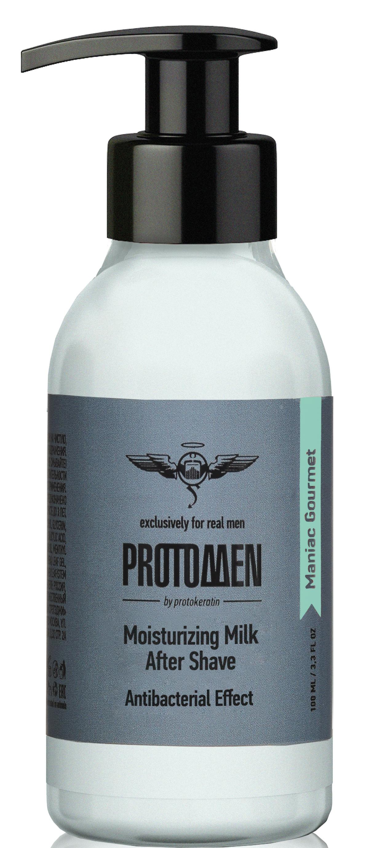Купить PROTOKERATIN Молочко увлажняющее после бритья, для мужчин / ProtoMEN 100 мл