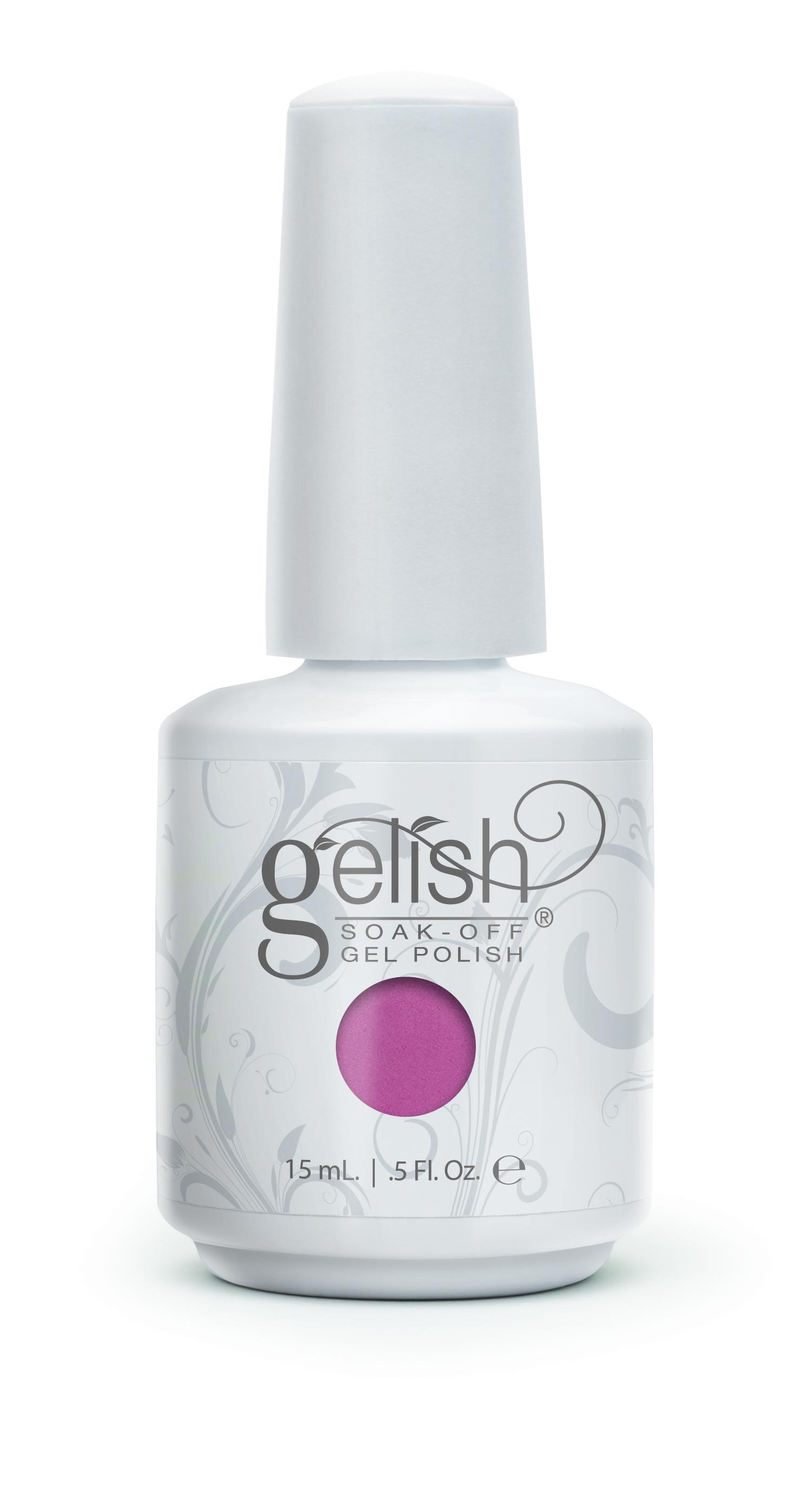 GELISH Гель-лак Texas Me Later / GELISH 15млГель-лаки<br>Гель-лак Gelish наносится на ноготь как лак, с помощью кисточки под колпачком. Процедура нанесения схожа с&amp;nbsp;нанесением обычного цветного покрытия. Все гель-лаки Harmony Gelish выполняют функцию еще и укрепляющего геля, делая ногти более прочными и длинными. Ногти клиента находятся под защитой гель-лака, они не ломаются и не расслаиваются. Гель-лаки Gelish после сушки в LED или УФ лампах держатся на натуральных ногтях рук до 3 недель, а на ногтях ног до 5 недель. Способ применения: Подготовительный этап. Для начала нужно сделать маникюр. В зависимости от ваших предпочтений это может быть европейский, классический обрезной, СПА или аппаратный маникюр. Главное, сдвинуть кутикулу с ногтевого ложа и удалить ороговевшие участки кожи вокруг ногтей. Особенностью этой системы является то, что перед нанесением базового слоя необходимо обработать ноготь шлифовочным бафом Harmony Buffer 100/180 грит, для того, чтобы снять глянец. Это поможет улучшить сцепку покрытия с ногтем. Пыль, которая осталась после опила, излишки жира и влаги удаляются с помощью обезжиривателя Бондер / GELISH pH Bond 15&amp;nbsp;мл или любого другого дегитратора. Нанесение искусственного покрытия Harmony.&amp;nbsp; После того, как подготовительные процедуры завершены, можно приступать непосредственно к нанесению искусственного покрытия Harmony Gelish. Как и все гелевые лаки, продукцию этого бренда необходимо полимеризовать в лампе. Гель-лаки Gelish сохнут (полимеризуются) под LED или УФ лампой. Время полимеризации: В LED лампе 18G/6G = 30 секунд В LED лампе Gelish Mini Pro = 45 секунд В УФ лампах 36 Вт = 120 секунд В УФ лампе Harmony Mini Portable UV Light = 180 секунд ПРИМЕЧАНИЕ: подвергать полимеризации необходимо каждый слой гель-лакового покрытия! 1)Первым наносится тонкий слой базового покрытия Gelish Foundation Soak Off Base Gel 15 мл. 2)Следующий шаг   нанесение цветного гель-лака Harmony Gelish.&amp;nbsp; 3)Заключительный этап Нанесе