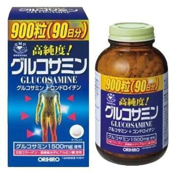 ORIHIRO Глюкозамин и хондроитин с витаминами, таблетки 900 шт