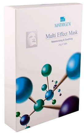 MATRIGEN Маска для лица Мульти эффект / Multi Effect Mask Moisturizing & Soothing 10 шт  - Купить