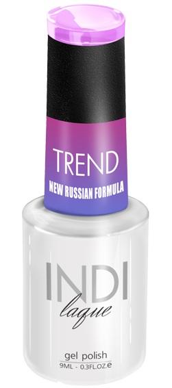 Купить RuNail 5016 гель-лак для ногтей / INDI laque Trend 9 мл, Фиолетовые