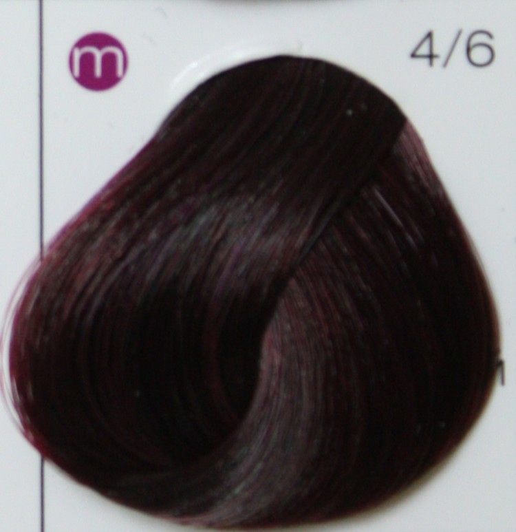 LONDA PROFESSIONAL 4/6 краска для волос, шатен фиолетовый / LC NEW micro reds 60 мл