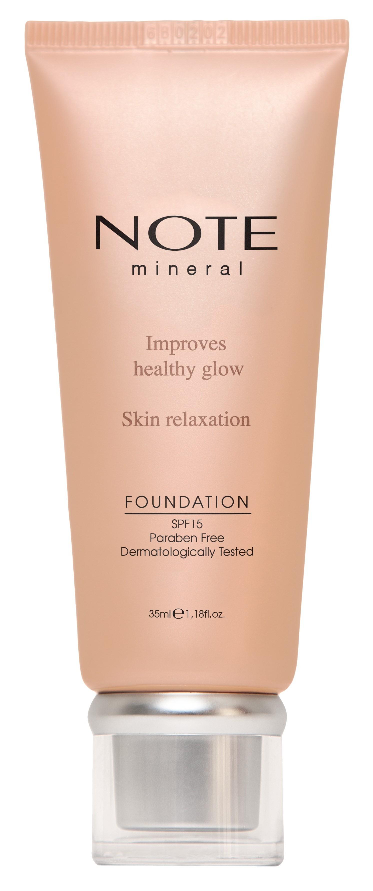 Купить NOTE Cosmetics Основа тональная минеральная для лица 403 / MINERAL FOUNDATION 35 мл