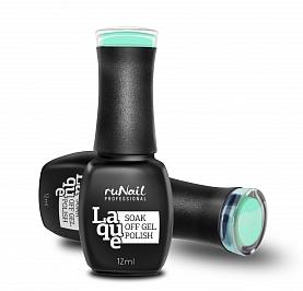 RuNail 2175 гель-лак для ногтей Ментоловый леденец / Laque Mint Candy 12 мл