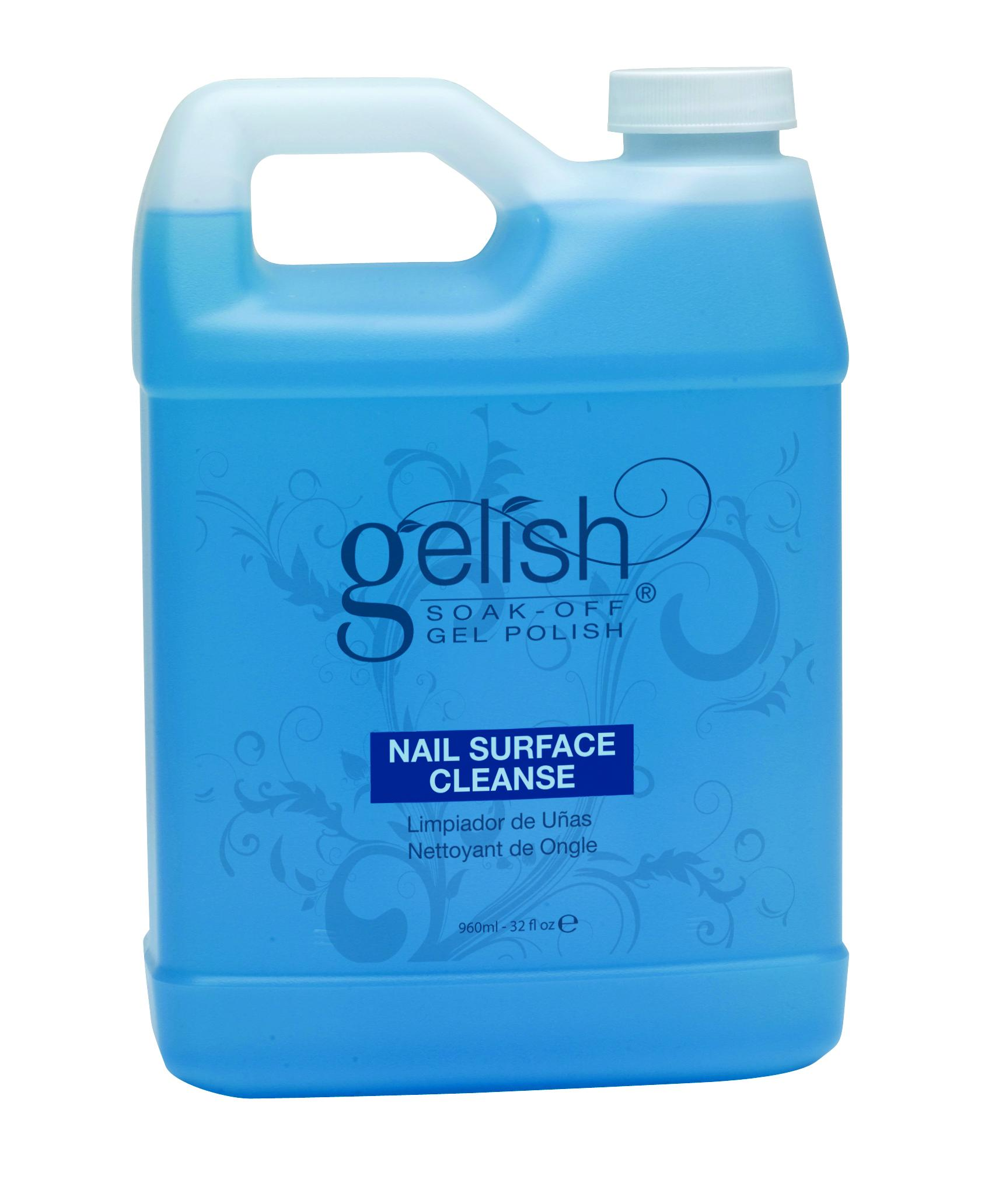 GELISH Препарат для удаления липкого слоя / GELISH Nail Surface Cleanser 960мл