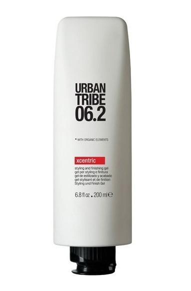 URBAN TRIBE Гель моделирующий и заверщающий 06.2 / Xcentric 200млГели<br>Моделирующий гель для волос Urban Tribe Xcentric легко придает форму и фиксирует укладку. Подходит для моделирования прически, завершающих штрихов или создания эффекта мокрых волос. Высокотехнологичный полимер (смола) создает эффект памяти, не оставляя следов на волосах, благодаря эластичности покрывающих веществ. Фиксирующий полимер создает эффект покрытия волос для более длительного сохранения укладки. Витамин Е, антиоксидант. Органические эко-сертифицированные элементы оказывают увлажняющее, ухаживающее и антиоксидантное действие.<br>