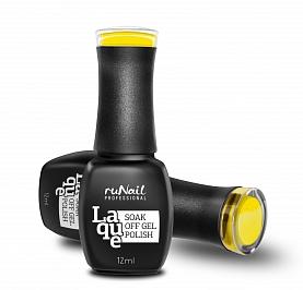 RuNail Гель-лак Желтый тюльпан / Laque 12мл runail гель лак колдунья laque 12мл