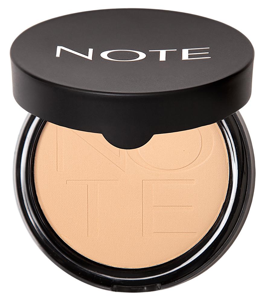 Купить NOTE Cosmetics Пудра компактная с эффектом сияния 03 / LUMINOUS SILK COMPACT POWDER 10 г