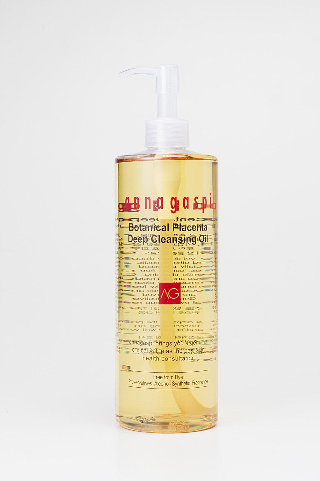 ANNAGASPI ����� ��������� / Botanical Placenta Deep Cleansing Oil 500��