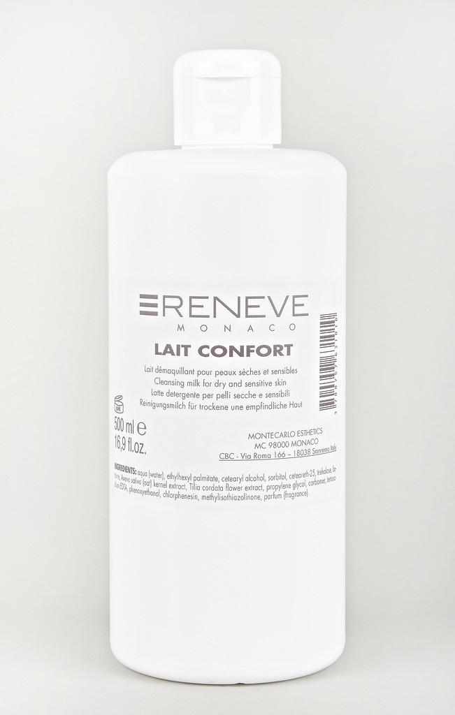RENEVE Молочко деликатное очищающее / LAIT CONFORT 500мл