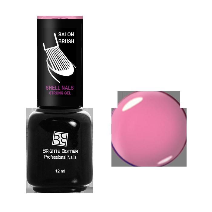 BRIGITTE BOTTIER 937 гель-лак для ногтей, клубника со сливками / Shell Nails 12 мл