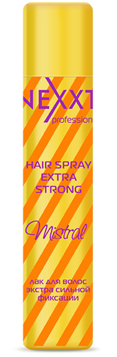NEXXT professional Лак экстра сильной фиксации для волос / HAIR SPRAY EXTRA STRONG Mistral 400 мл спрей nexxt professional energy vital protection spray 250 мл