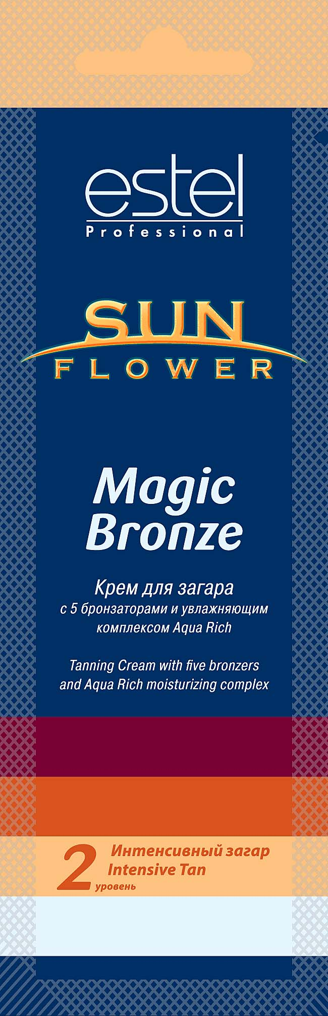 ESTEL PROFESSIONAL Крем для загара / Sun Flower Magic Bronze 15мл
