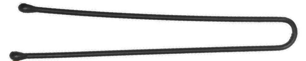 DEWAL PROFESSIONAL Шпильки черные, прямые 45 мм, 60 шт/уп (на блистере)