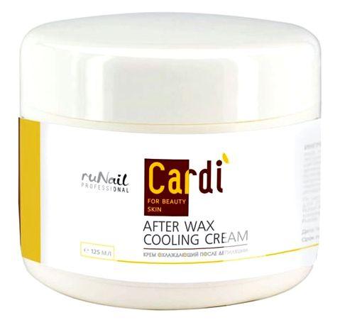 RuNail Крем охлаждающий после депиляции / Cardi 125 мл - Кремы