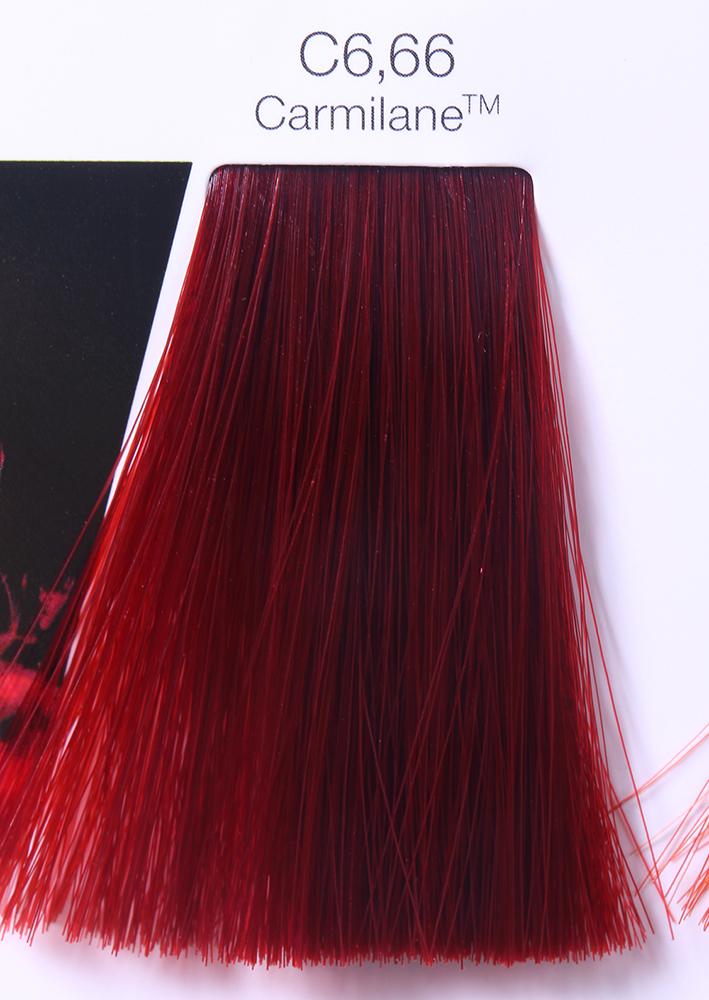 LOREAL PROFESSIONNEL 6.66 краска для волос / ИНОА ODS2 CARMILANE 60грКраски<br>Inoa Carmilane - высокая интенсивность. Непревзойденная стойкость. Пигмент идентичен натуральному пигменту волоса Усовершенствованная формула INOA наделяет любой вид окрашивания комфортом, отсутствием негативных последствий в виде поврежденных волосяных стержней, раздражения или аллергических реакций кожи головы. Входящие в состав средства активные компоненты интенсивно увлажняют, питают и защищают волосы, обеспечивая им длительный бережный уход. В результате использования безаммиачной краски нового поколения волосы обретают естественный здоровый блеск, пластичность, гладкость и шелковистость. В числе достоинств нового средства стоит отметить способность полного закрашивания седины при любых объемных ее долях в основной массе волос. Даже при условии различия цвета по длине волос   от корней до кончиков   удается достичь безупречного эффекта в виде однородного, ровного и идеального покрытия желаемого цвета. Средство не содержит традиционных для краски химических компонентов и потому не обладает резким запахом, не служит источником раздражения, зуда или аллергии кожи головы. Наличие в составе краски ингредиента Олео-Гель обеспечивает бережное и стойкое покрытие. Способ применения: наносите на сухие или влажные волосы, смешивая в пропорции 1:1 с оксидентом INOA ODS2.<br><br>Типы волос: Для всех типов