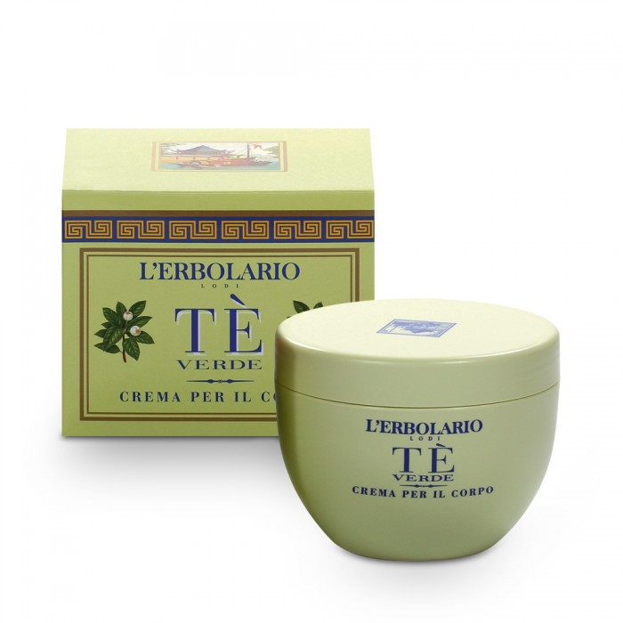 LERBOLARIO Крем для тела Зеленый чай 300мл