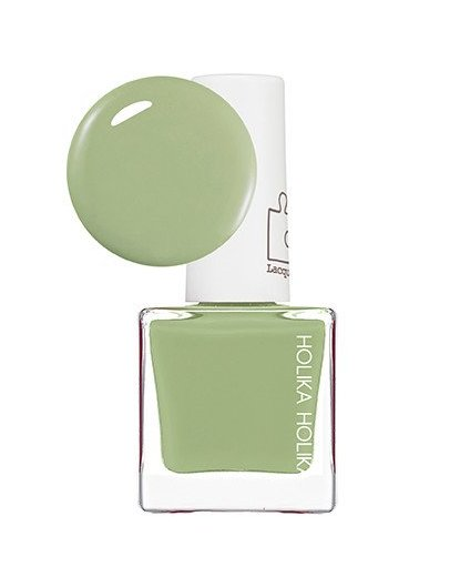"HOLIKA HOLIKA Лак для ногтей GR01 (салатовый) ""Пис Мэтчинг"" / Piece Matching Nails (Lacquer) Greentea Latte 10мл"