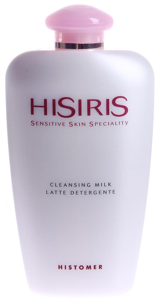 HISTOMER Молочко очищающее / Cleansing milk HISIRIS 200млМолочко<br>Для ухода за чувствительной кожей.  Активные ингредиенты: Эксклюзивные экстракты растений Амазонии, Bio-Matrix Комплекс, восстанавливающий кожный барьер, гиалуронат натрия, церамиды, лецитин, фитосфингозин, бетаин, которые способствуют преобразованию &amp;laquo;чувствительная кожа&amp;raquo; &amp;rarr;  нормальная кожа .  Способ применения: Массирующими движениями нанести на лицо, смыть теплой водой.<br><br>Объем: 200<br>Вид средства для лица: Восстанавливающий<br>Типы кожи: Чувствительная