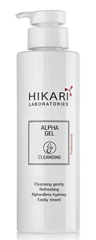 Купить HIKARI LABORATORIES Гель очищающий для сияния кожи / Alpha Gel 500 мл