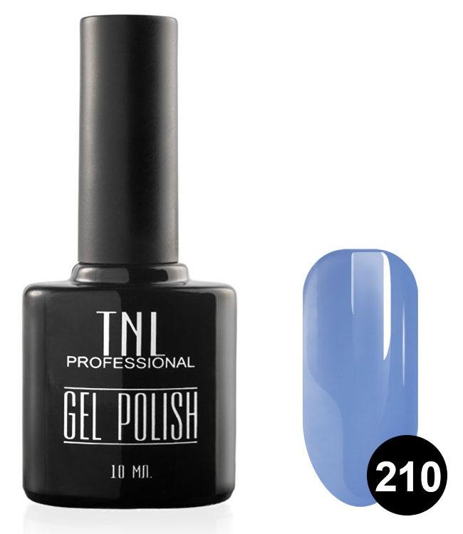 TNL PROFESSIONAL 210 гель-лак для ногтей, васильковый 10 мл фото