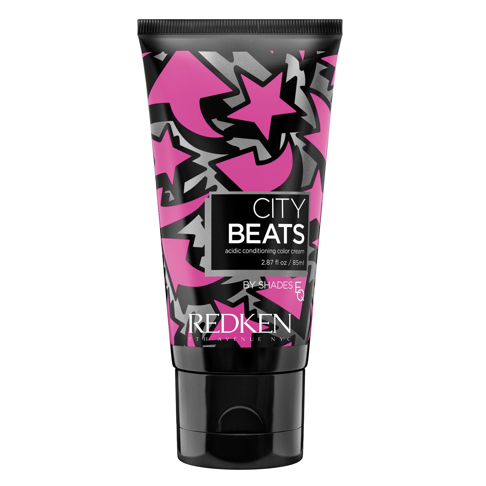 REDKEN Крем с тонирующим эффектом для волос Пурпурно-Красный Мидтаун (маджента) / CITY BEATS 85мл