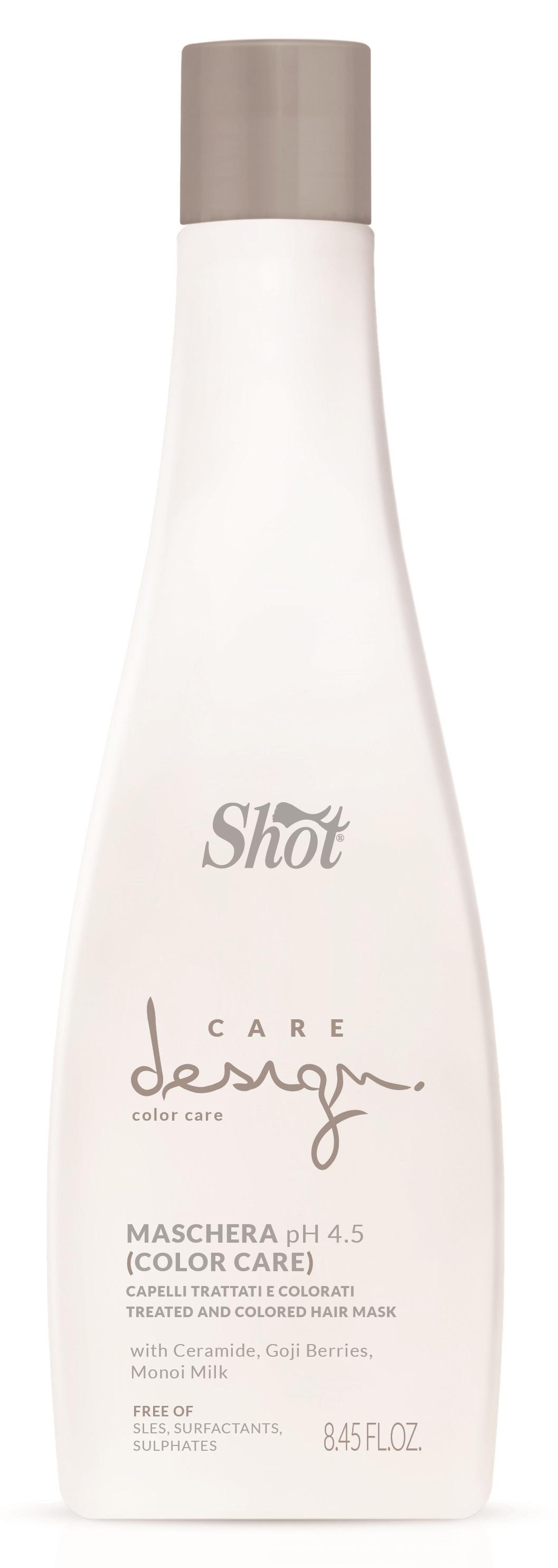 SHOT Маска для окрашенных волос / Care Design 250 мл