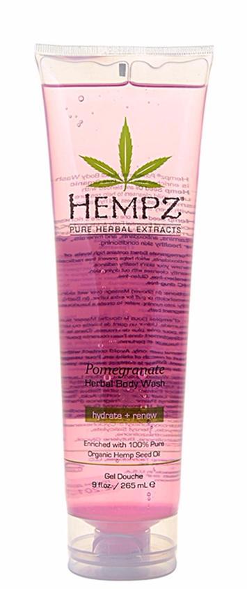 HEMPZ Гель для душа Гранат / Body Wash Pomegranate 265млГели<br>Нежный очищающий гель для ежедневного применения на основе масла и экстракта семян конопли с экстрактом граната для душа и ванны. Масло и экстракт семян конопли мгновенно увлажняют, питают и восстанавливают естественный гидро-баланс кожи. Экстракт граната обладает тонизирующим и восстанавливающим свойством. Мягко очищает и смягчает кожу, не нарушая гидро-липидный баланс. Способ применения: Для Душа: Массажными движениями нанести на влажную кожу. Обильно смыть водой. Для Ванны: Для образования ароматной пенки, небольшое количество геля добавить в наполняемую ванну. Для получения наилучшего результата используйте в комплексе с любым Растительным увлажняющим молочком Herbal Moisturizer из серии HEMPZ или с Питательным кремом для тела HEMPZ Body Butter.<br><br>Объем: 265 мл