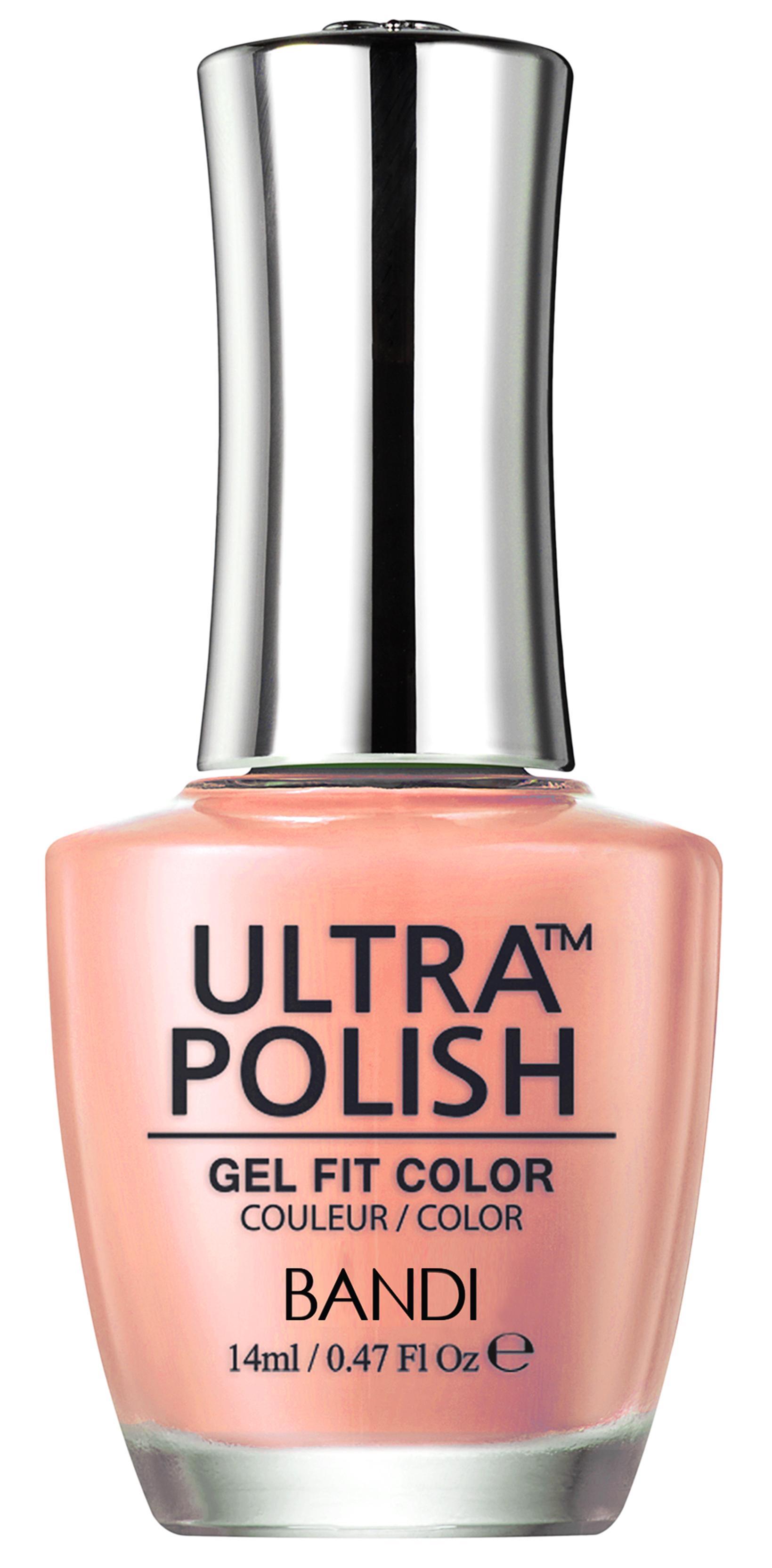 Купить BANDI UP611 ультра-покрытие долговременное цветное для ногтей / ULTRA POLISH GEL FIT COLOR 14 мл, Оранжевые