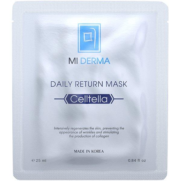 NOLLAM LAB Маска восстанавливающая для лица / Mi Derma Celltella Daily Return Mask, 125 мл -  Маски
