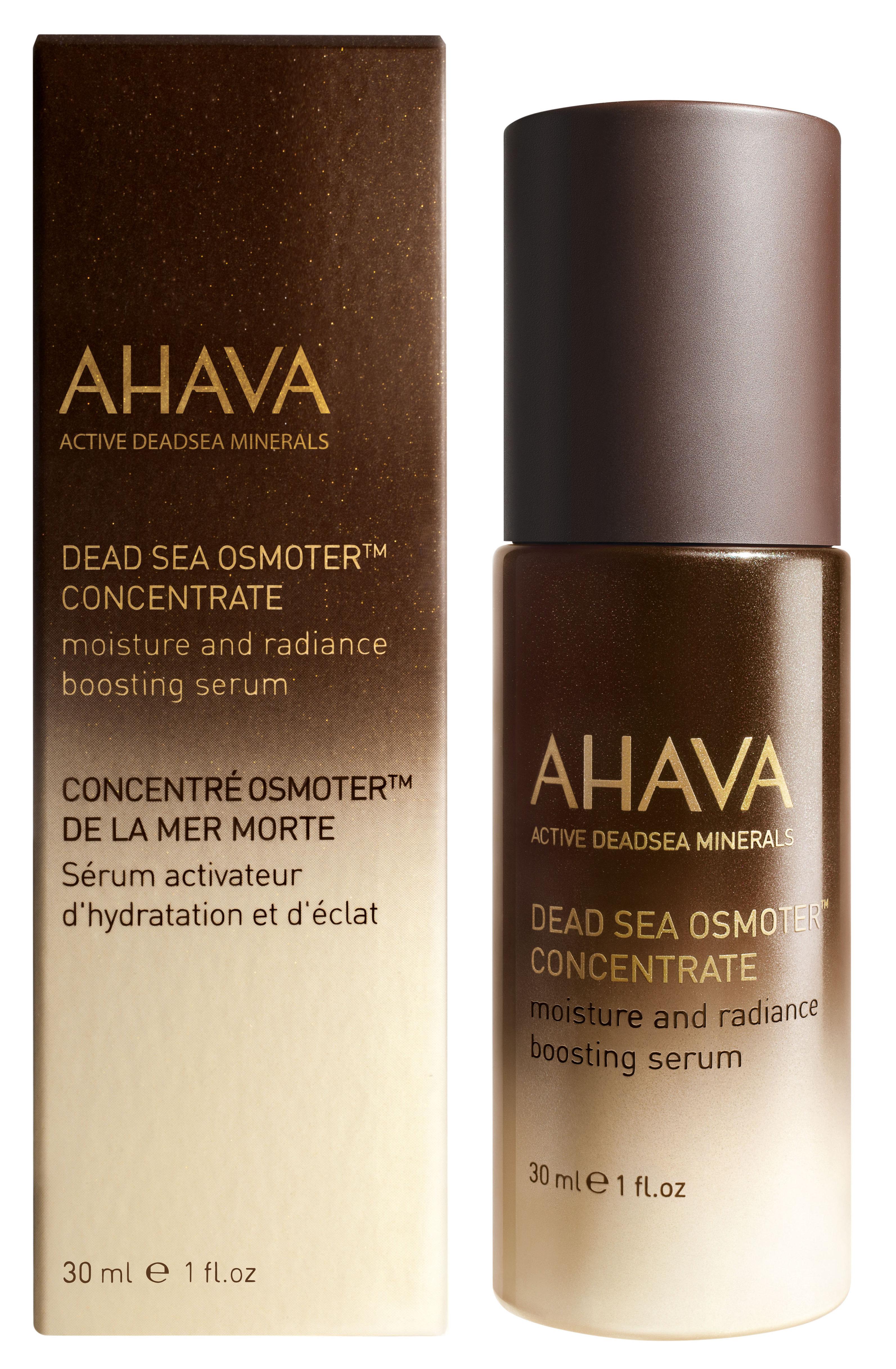AHAVA Концентрат минералов мертвого моря, активная сыворотка для увлажнения и сияния / Osmoter Dsoc 30 мл