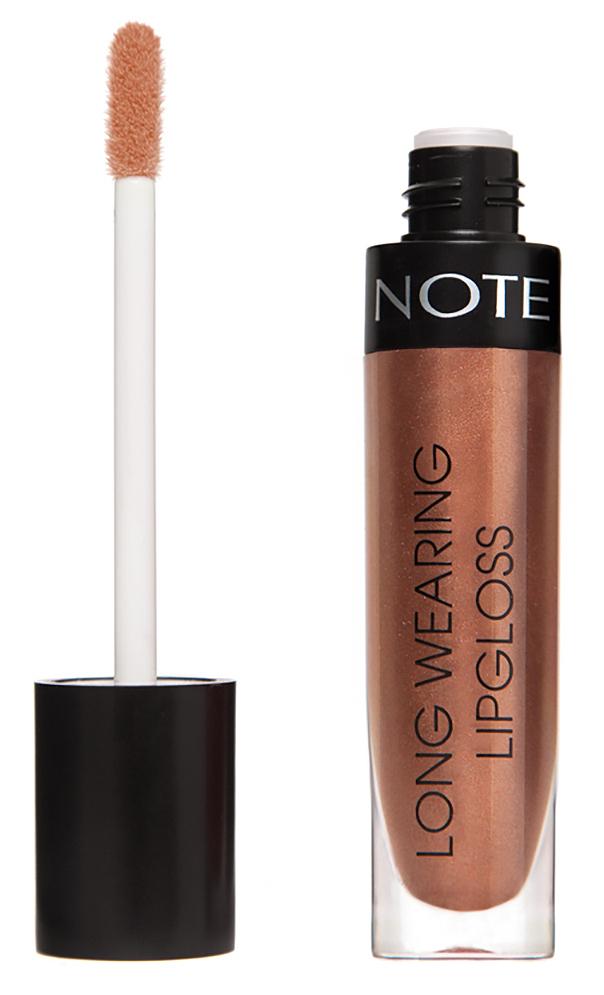 Купить NOTE Cosmetics Блеск стойкий для губ 24 / LONG WEARING LIPGLOSS 6 мл