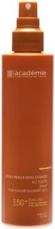 ACADEMIE Спрей солнцезащитный для чувствительной кожи SPF50+ / BRONZECRAN 150мл