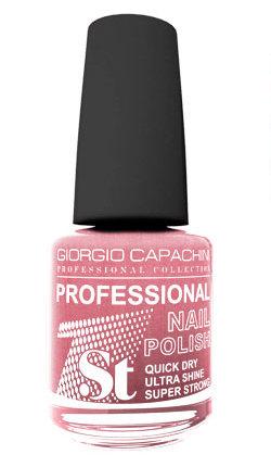 Купить GIORGIO CAPACHINI 18 лак для ногтей, клубничный крем / 1-st Professional 16 мл, Розовые