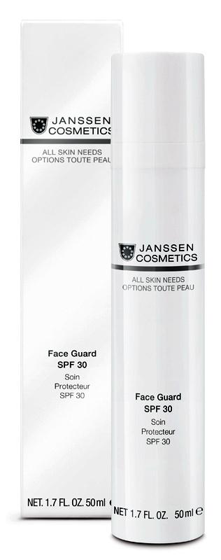 JANSSEN Основа под дневной крем солнцезащитная легкая для лица / ALL SKIN NEEDS Face Guard 50 мл
