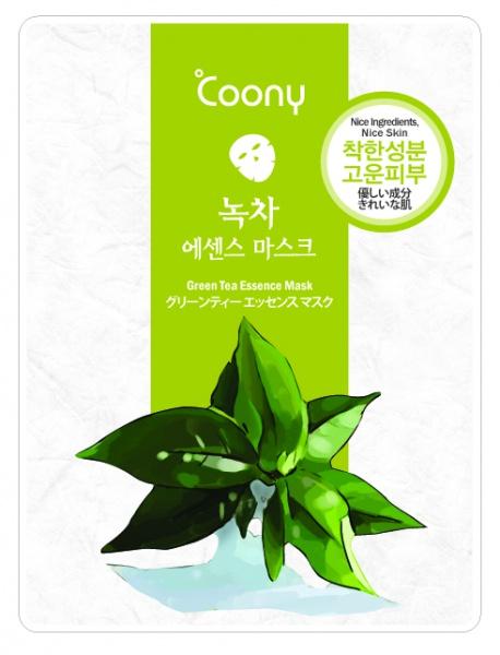 ANNAGASPI ����� � ���������� �������� ��� / Green Tea Essence Mask 23��