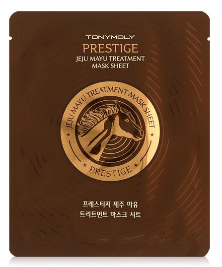 TONY MOLY Маска для лица / Prestige Jeju Mayu Treatment Mask Sheet 21 г